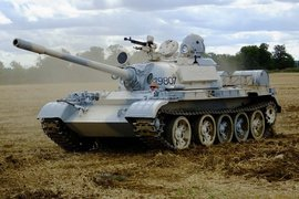 Ride the famous T-55 or T-62 tank image