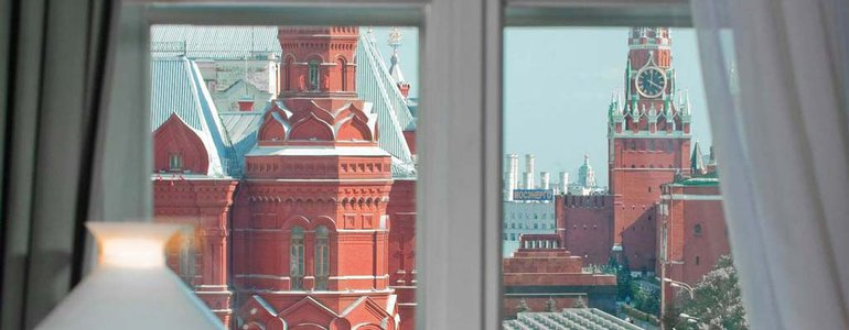 View from Four Seasons Moscow image