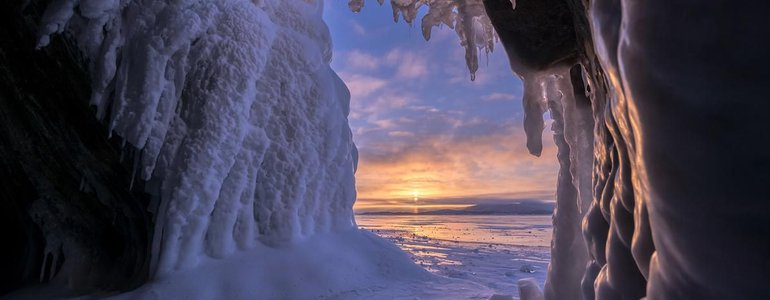 Ice grottoes image