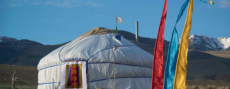 Local yurts image