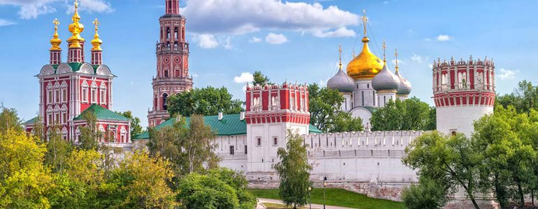 the Novodevichy Convent image