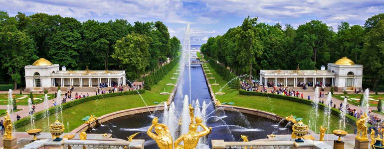 Peterhof Fountains image