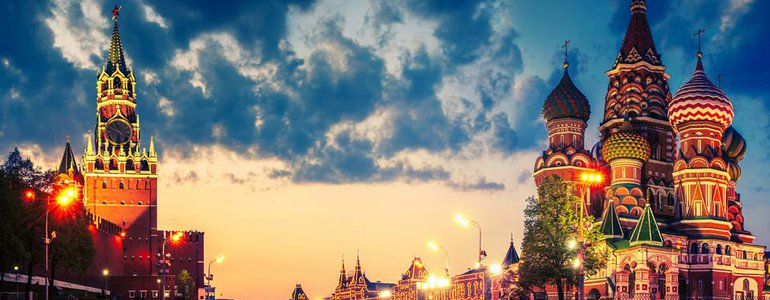 Moscow Krelmin and Red Square image