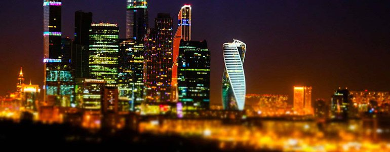Modern Moscow image
