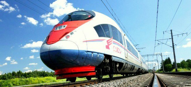 High speed train image