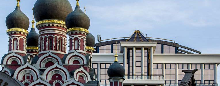 Moscow architecture is a crazy mix! image
