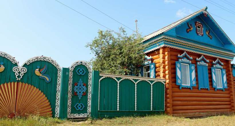 Old Believers Village in Buryatia image