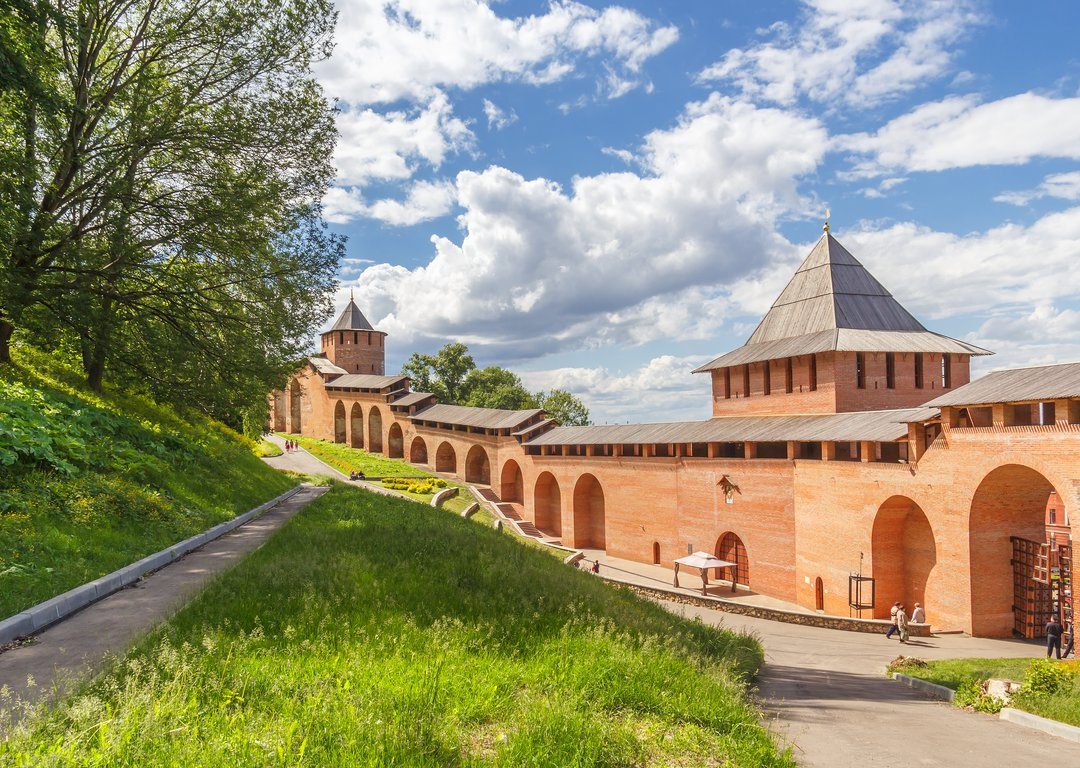 The Kremlin in Nizhny Novgorod image