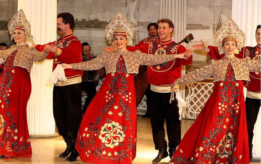 "Folk show ""Feel yourself Russian"" image"