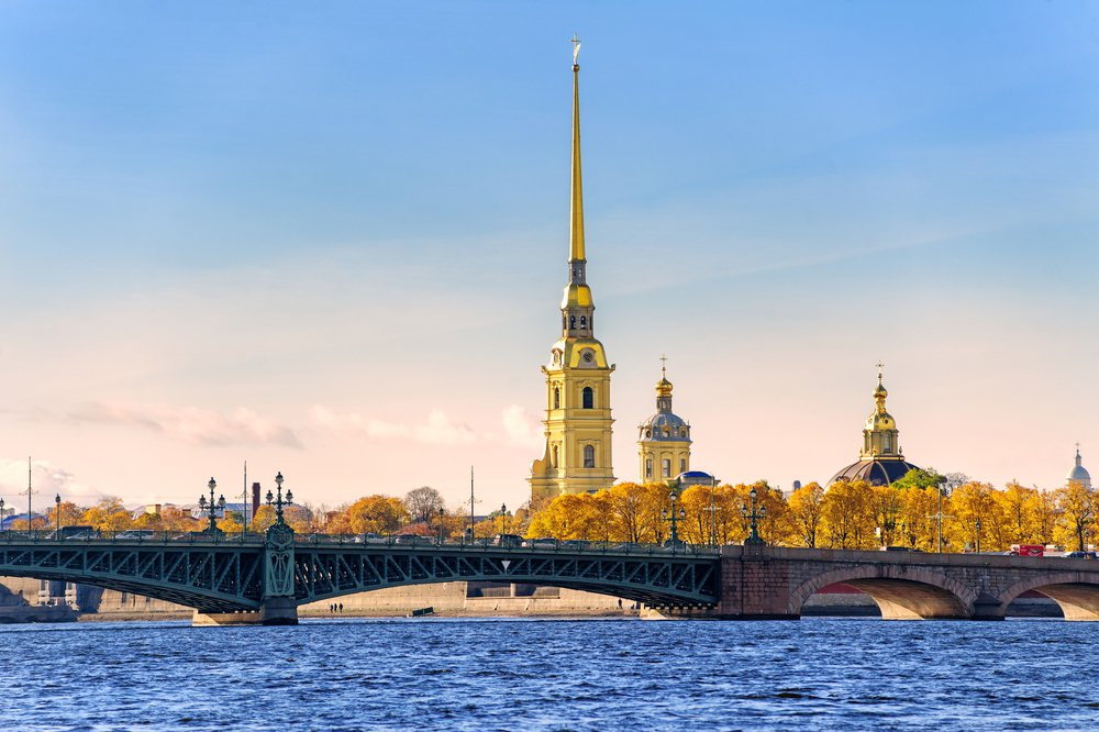 The Peter & Paul Fortress, St. Petersburg image