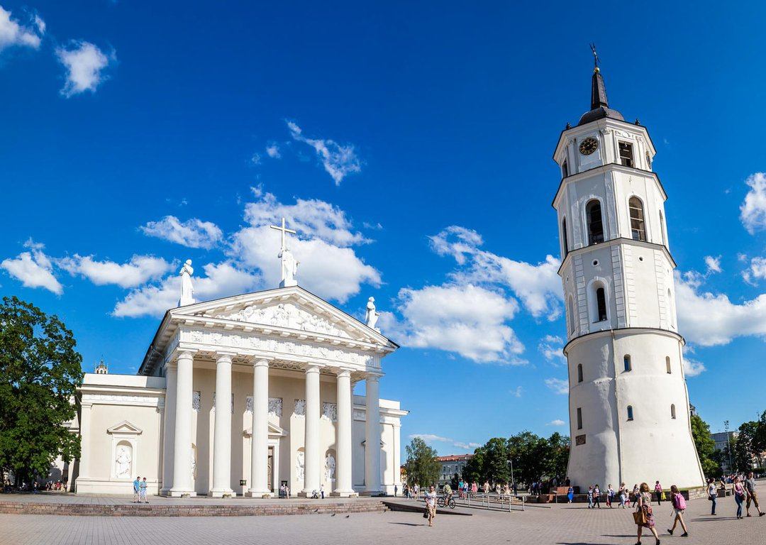 THE CATHEDRAL BASILICA OF ST. STANISLAUS AND ST. LADISLAUS OF VILNIUS image