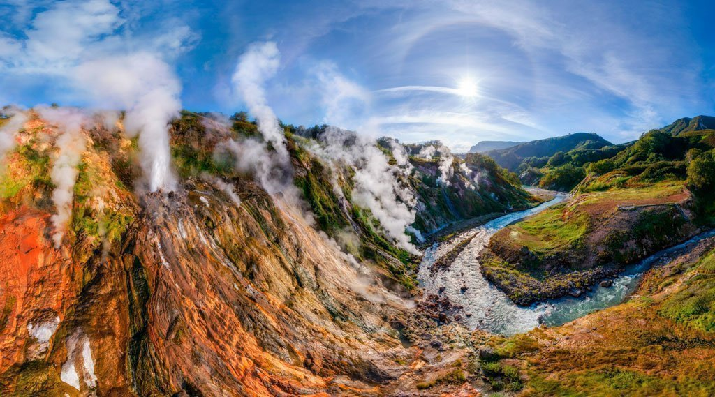 Valley of Geysers image
