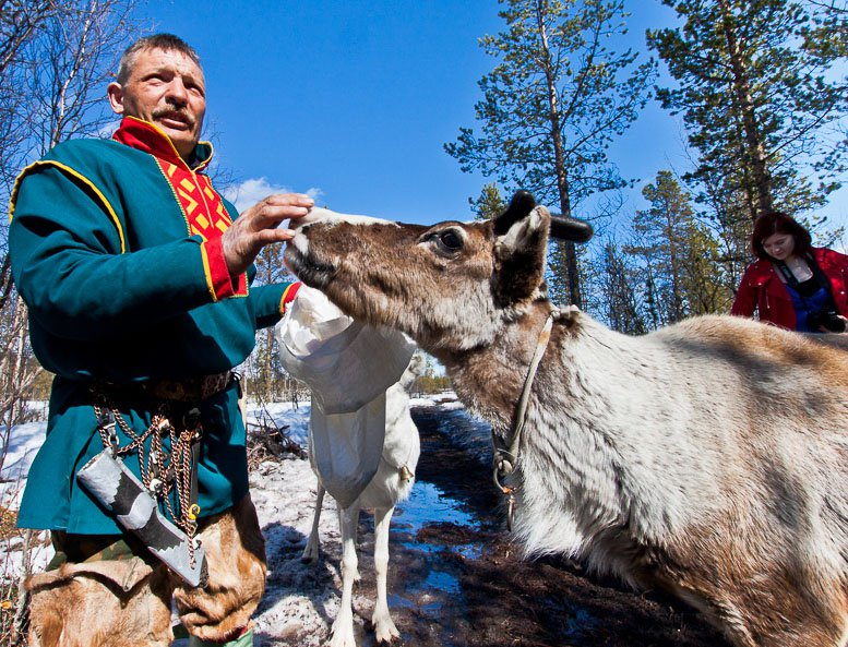 Saami people image