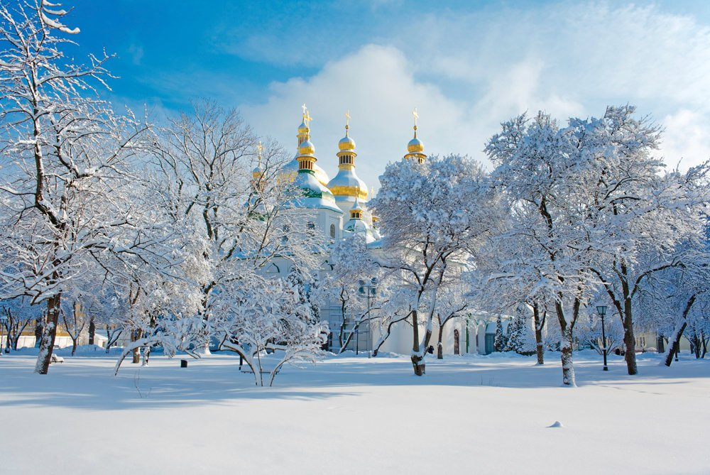 Chernihiv in winter image