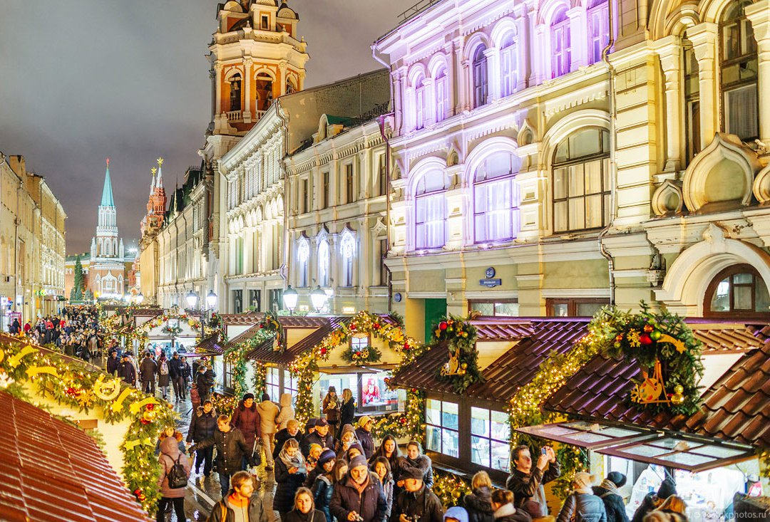 Moscow Christmas markets image