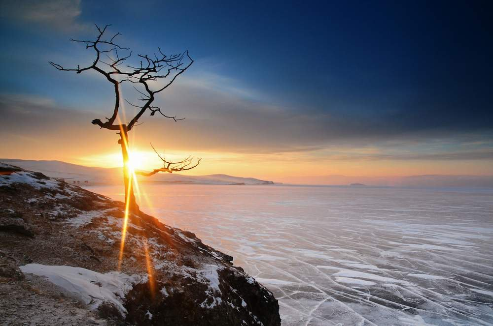 WINTER LAKE BAIKAL image