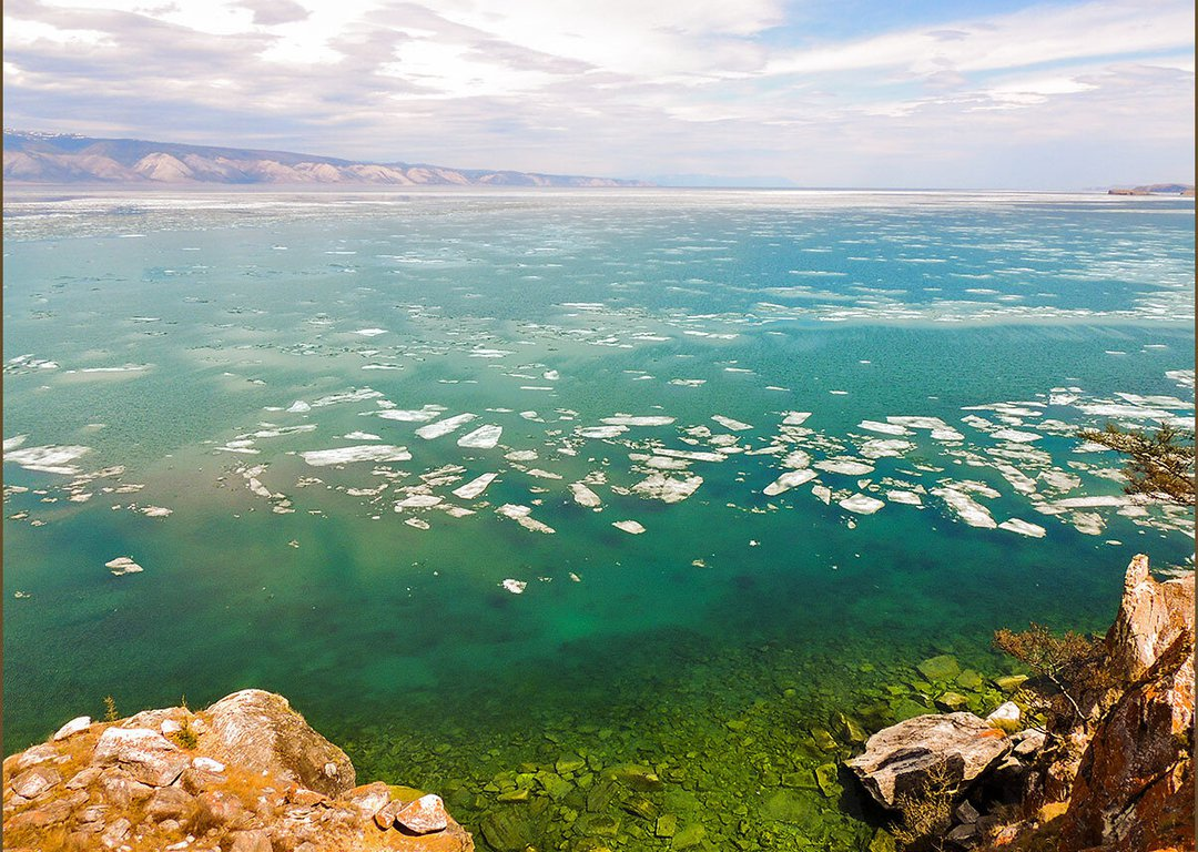 Spring colors of Baikal image