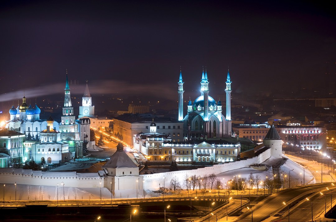 Kazan in winter image