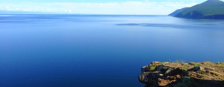 The world's largest, oldest and deepest freshwater lake image