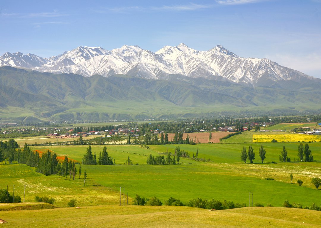 THE BEAUTIFUL SCENIC IN BISHKEK CITY image