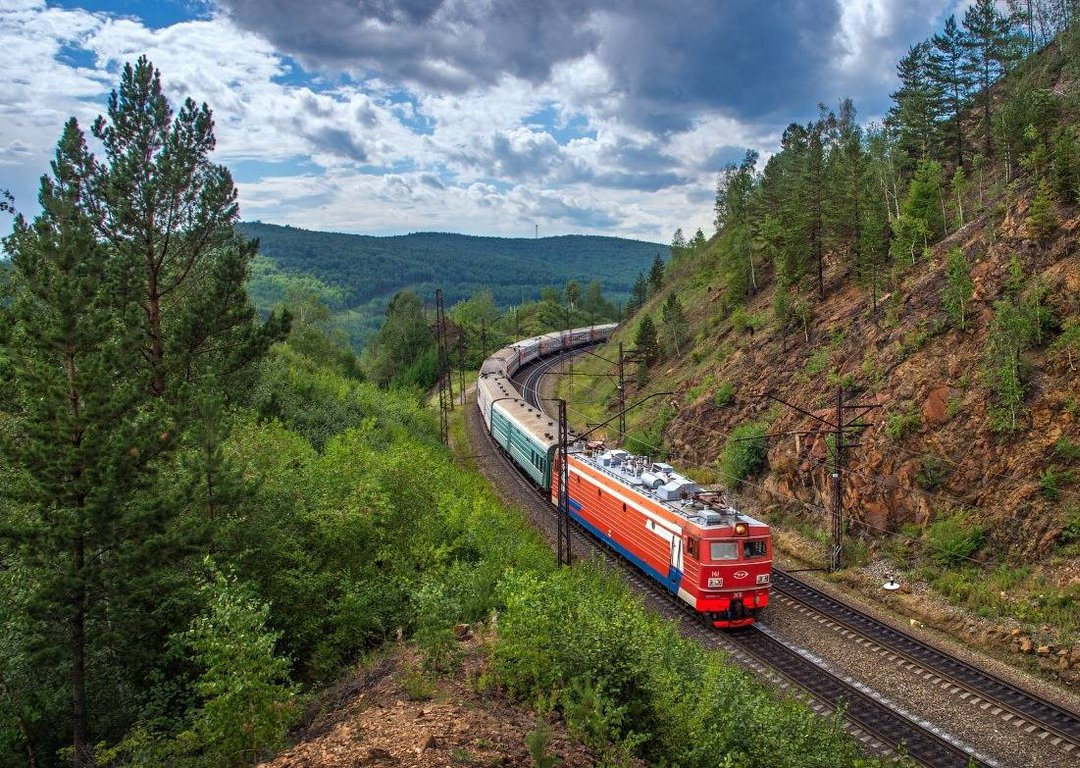 Trans Siberian Route image