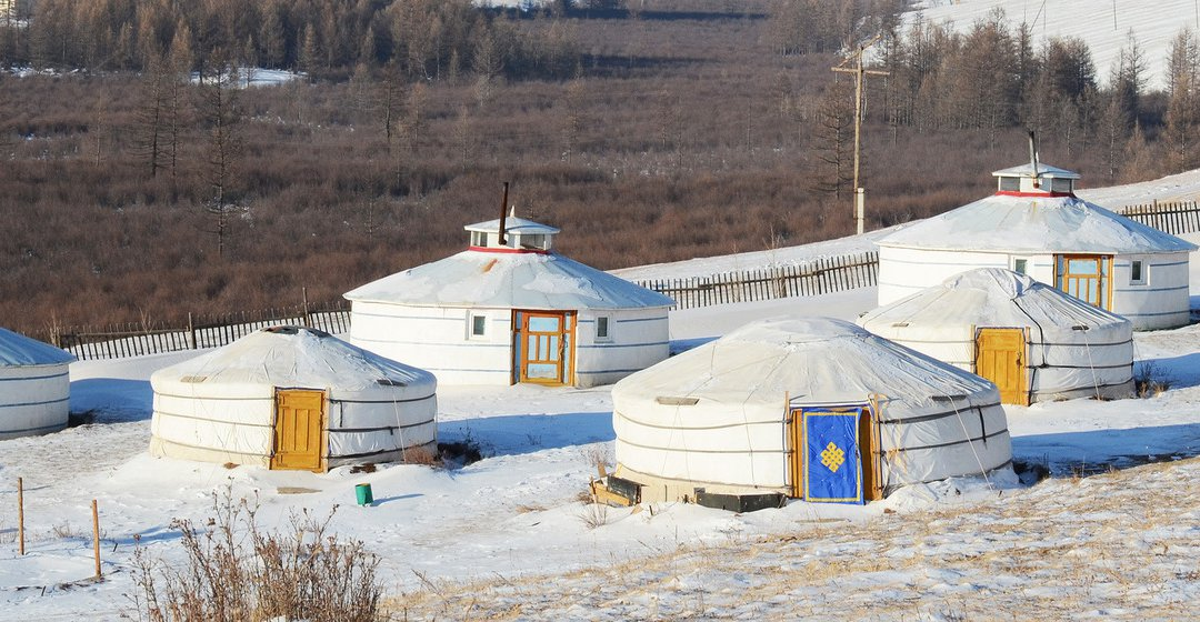 Yurt in Mongolia image