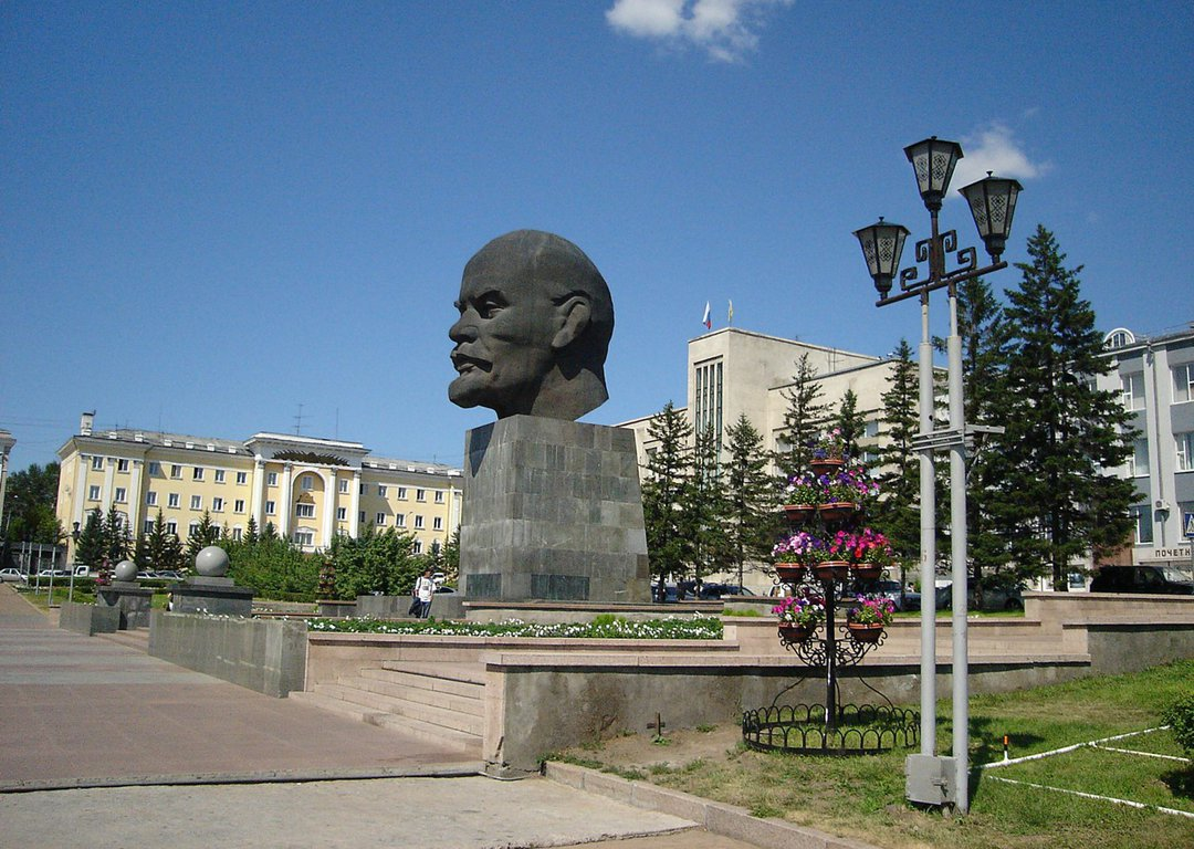 The biggest monument of Lenin, Ulan-Ude image