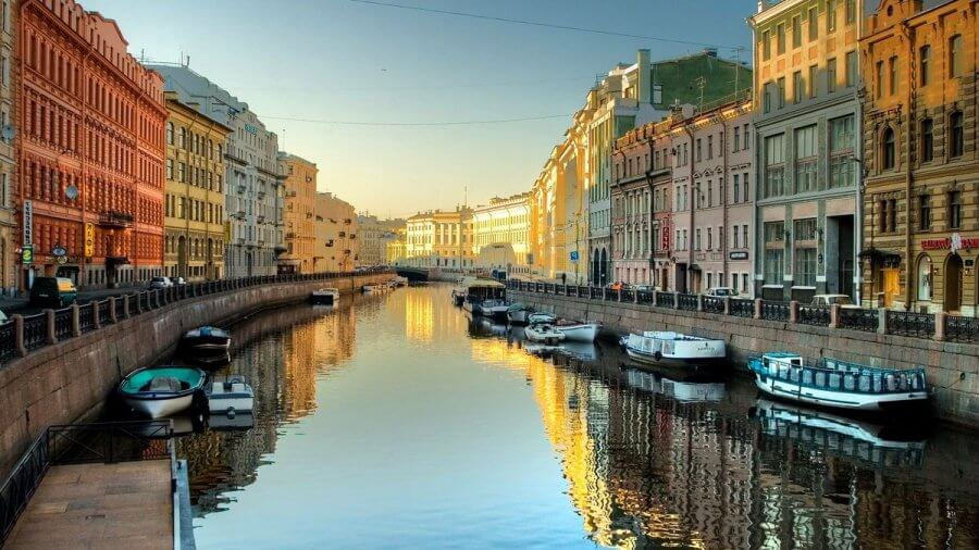 St. Petersburg sunset image