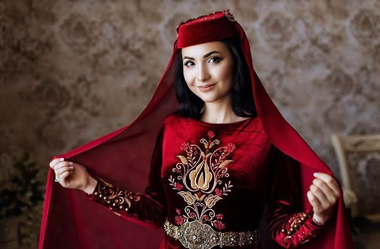 Crimean Tatar National Costumes image