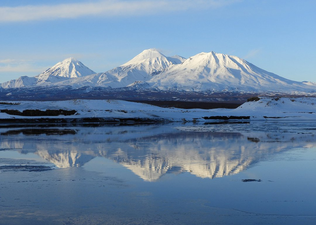Volcanoes of Kamchatka image