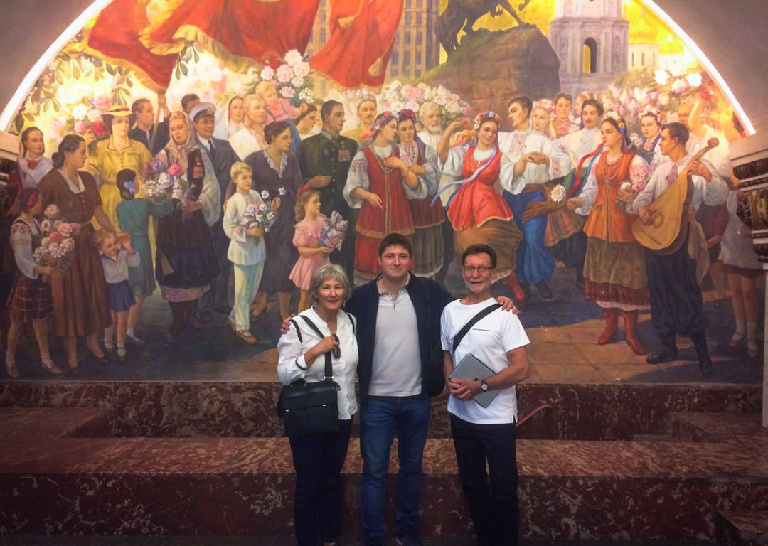 Our guests during Moscow Metro tour image