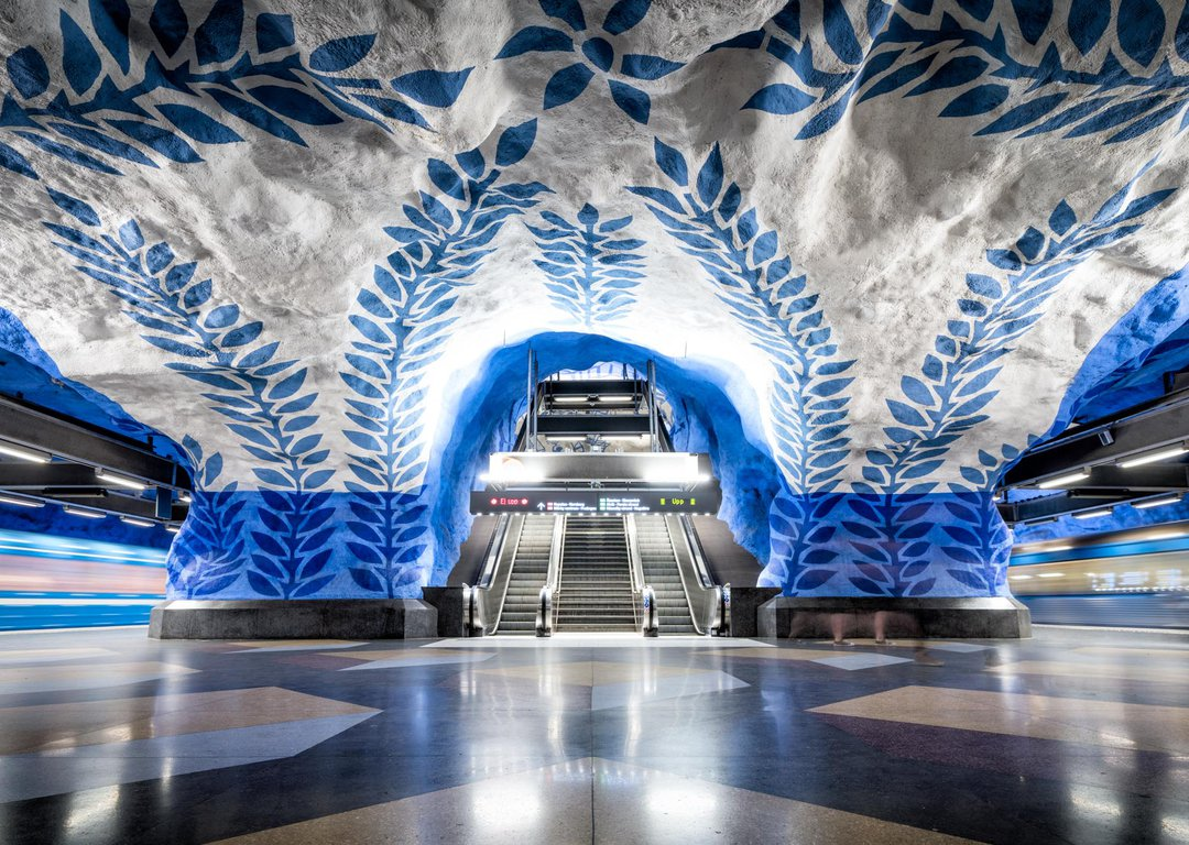 One of the Stockholm metro stations image