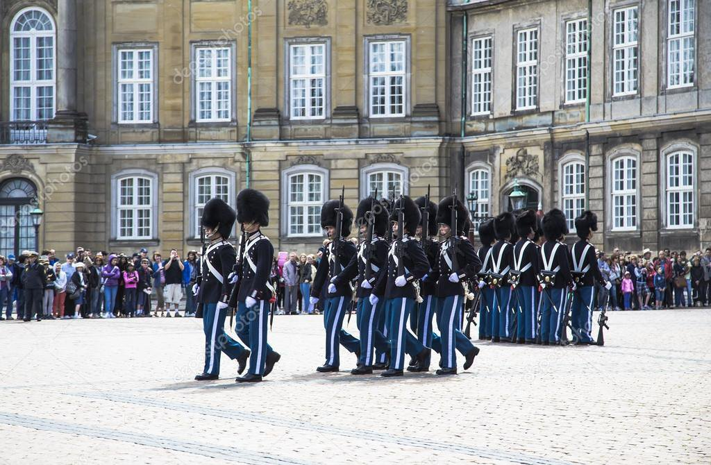 Changing of the Royal Guard ceremony, Copenhagen image