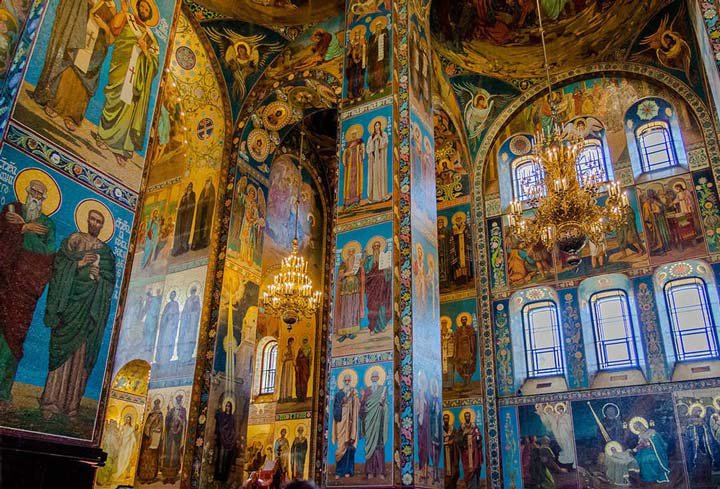 The Church of the Saviour on Spilled Blood image