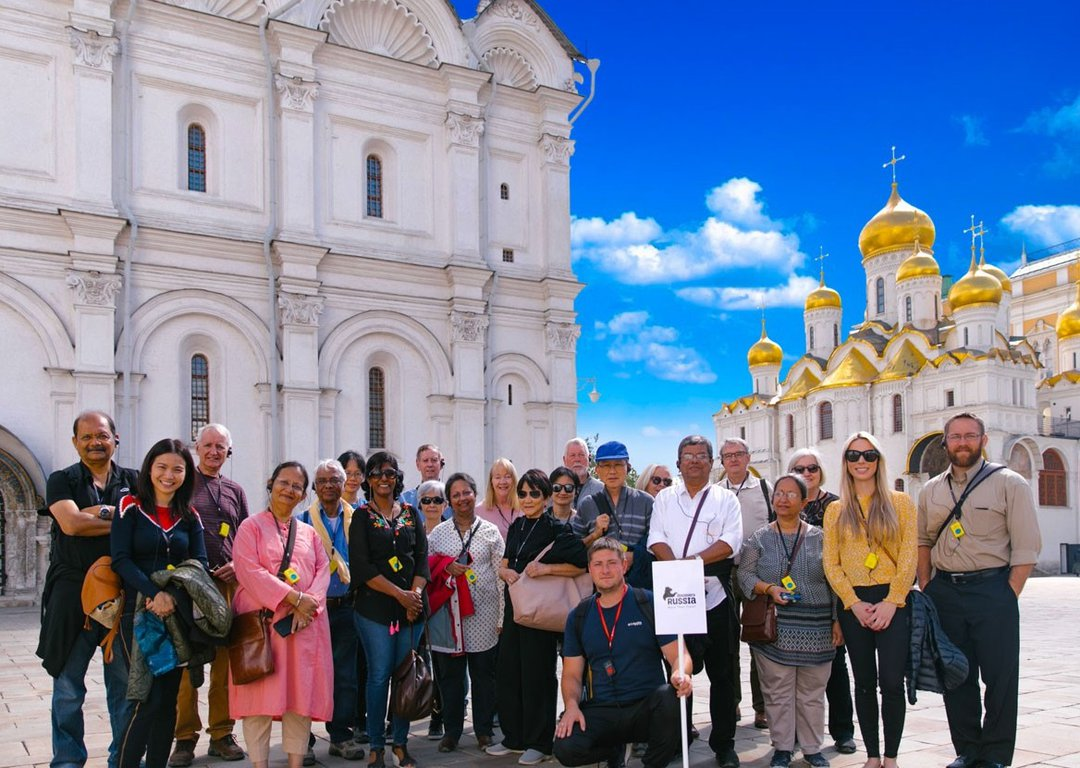 OUR TOURISTS IN VLADIMIR image