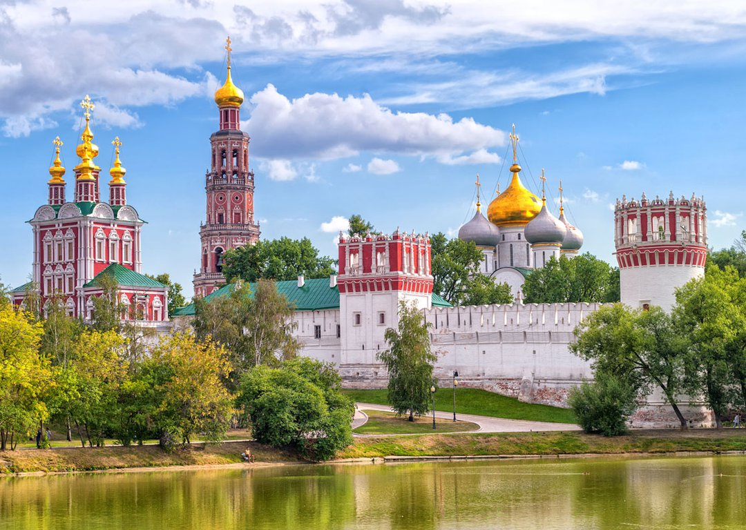 New Maidens// Novodevichy Convent image