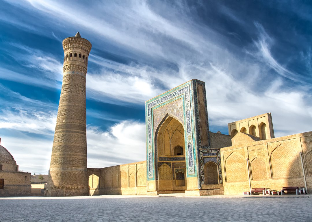 THE KALYAN MOSQUE, BUKHARA image