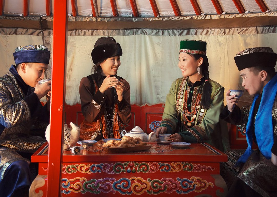Buryat people image