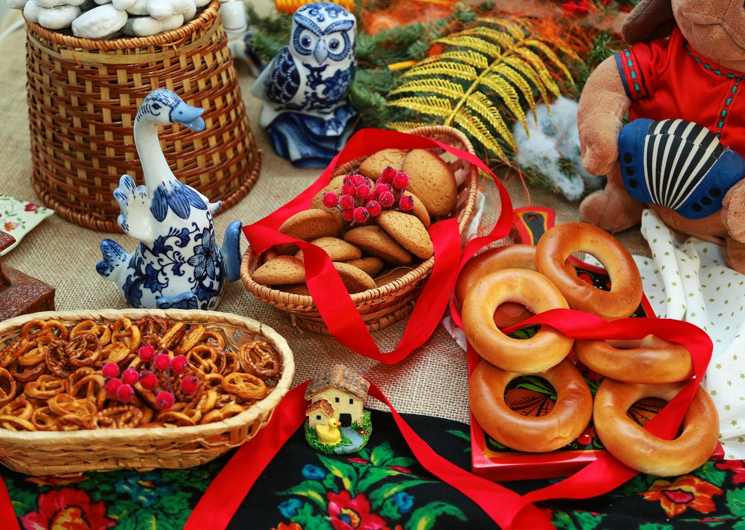 Traditional Russian treats image