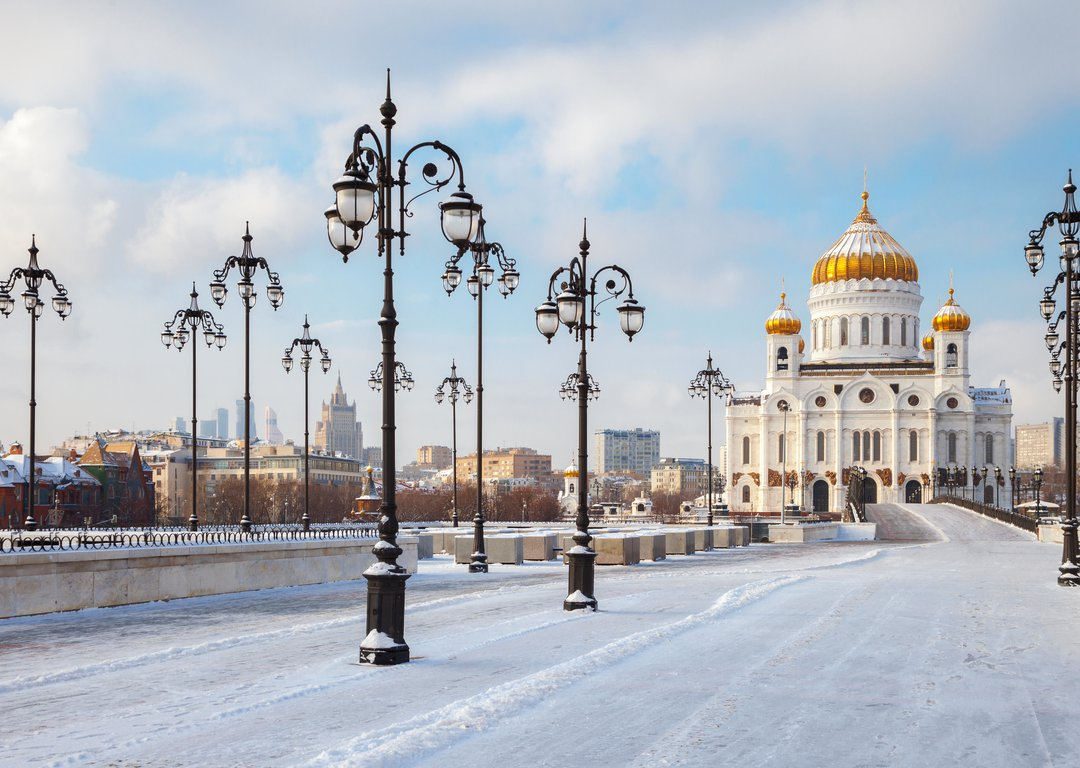 Winter Moscow image