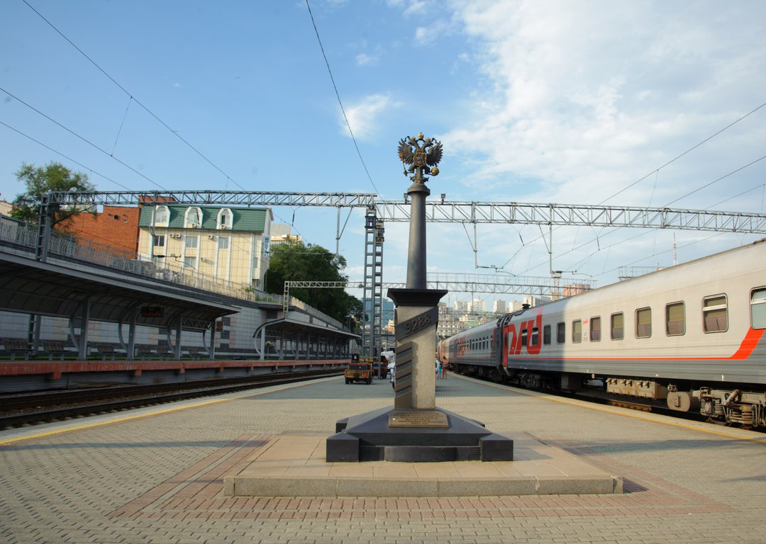 Here the Trans-Siberian legally ends image