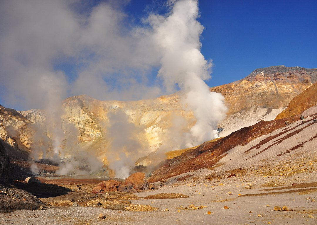 the Valley of Geysers image