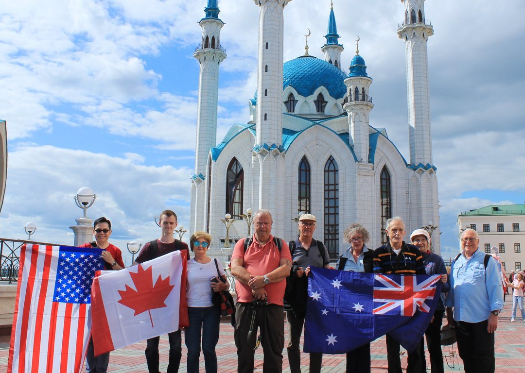 Our tourists in Kazan image
