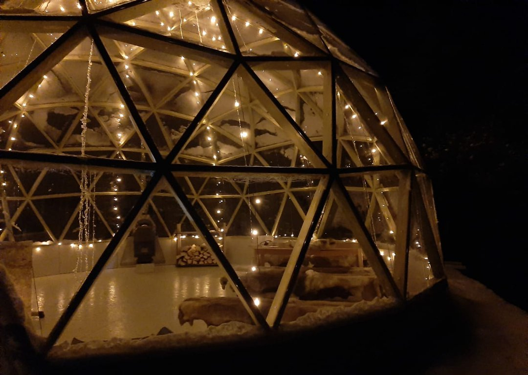 Glass dome dinner image