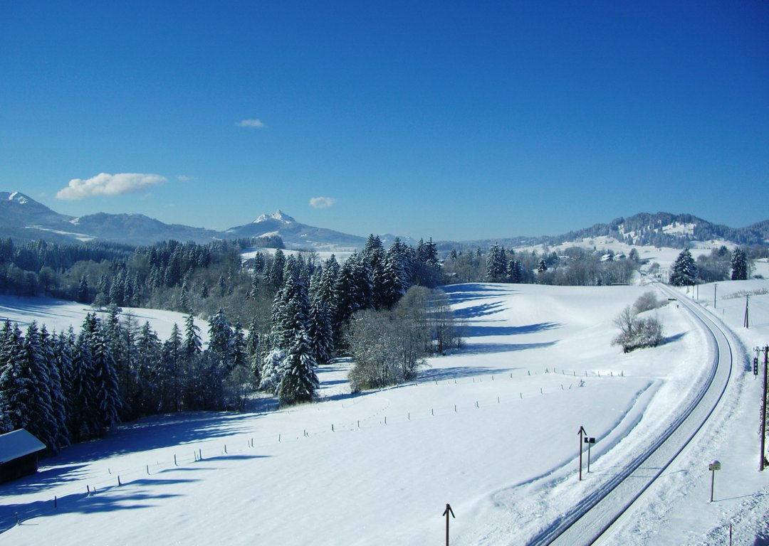 WINTER LANDSCAPES DURING THE JOURNEY image