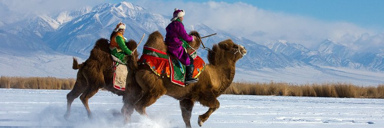 WInter in Mongolia image
