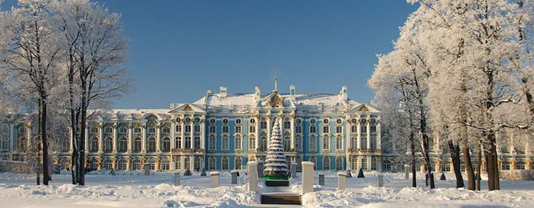 Catherine's Palace in winter image