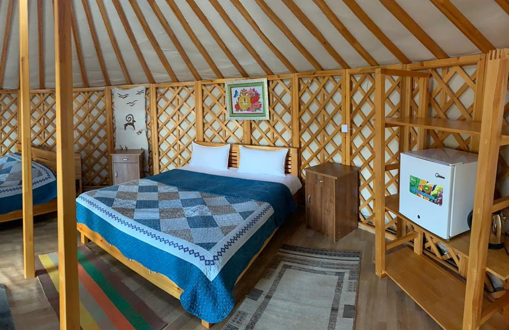 YURT IN GER CAMP image