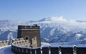 Great Wall in winter image