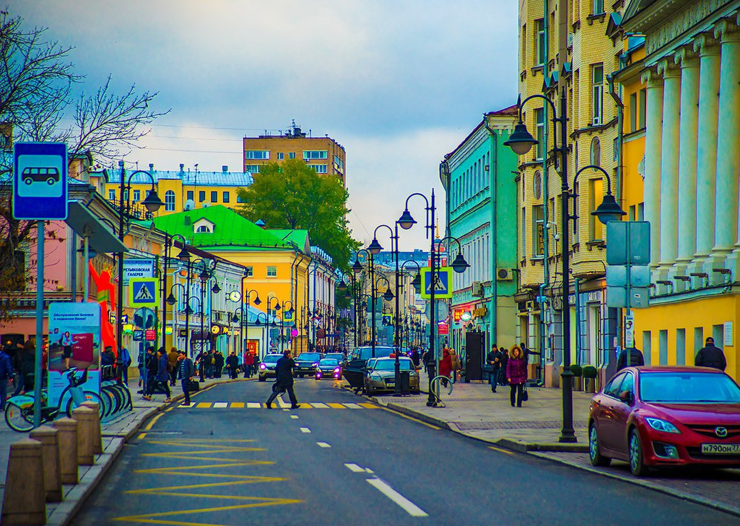 Moscow streets image